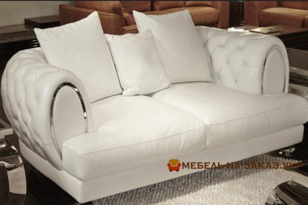 заказать изготовление мягкой мебели хайтек белого цвета