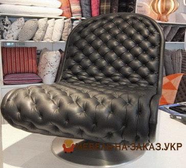 авторское черное кресло
