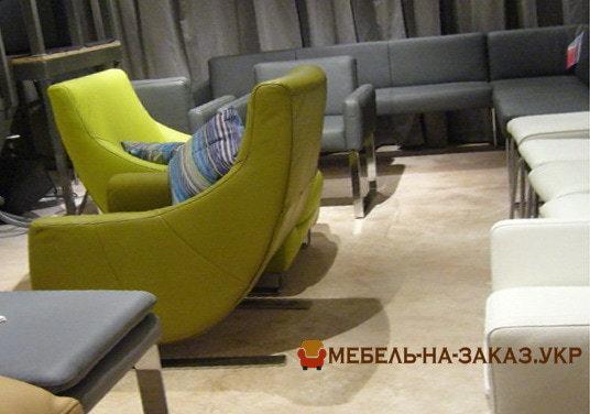 диван угловой с креслом на заказ