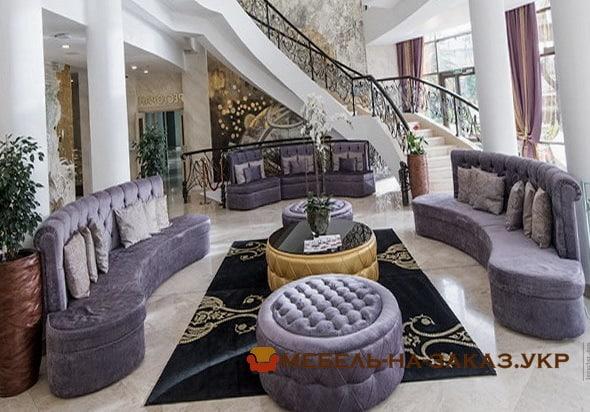 комплект мягкой мебели в отель