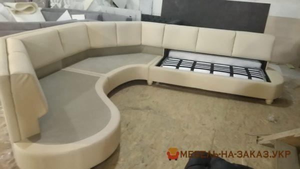 как делакак делают полукруглая авторская мебель ют угловой диван