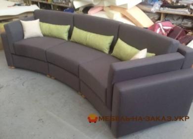 дизайнерский круглый диван Киев