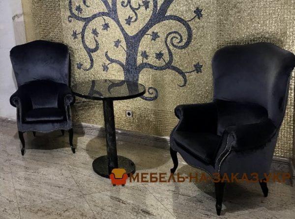 кресла для отеля под заказ в Киеве