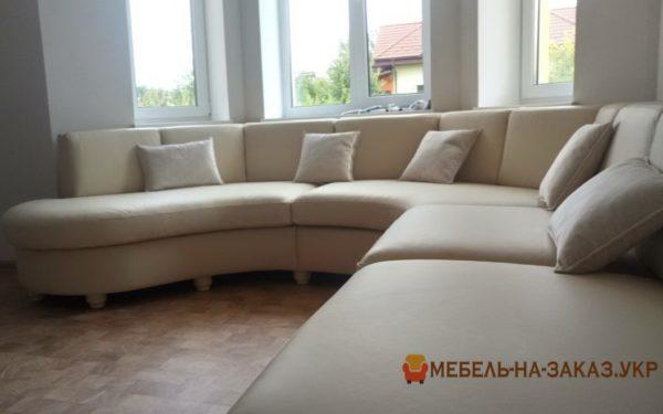 круглый диван на заказ Москва