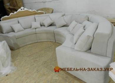 индивидуальный круглый диван в отель