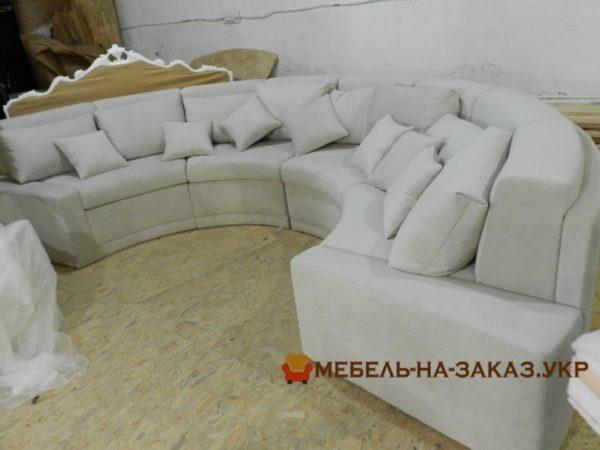 круглая мягкая мебель для отеля под заказ