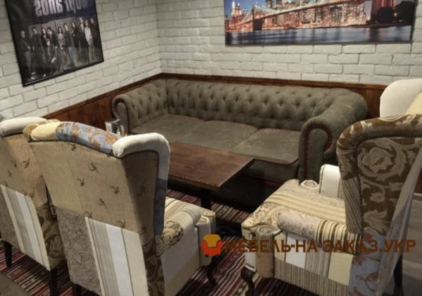 ресторан в отеле мебель