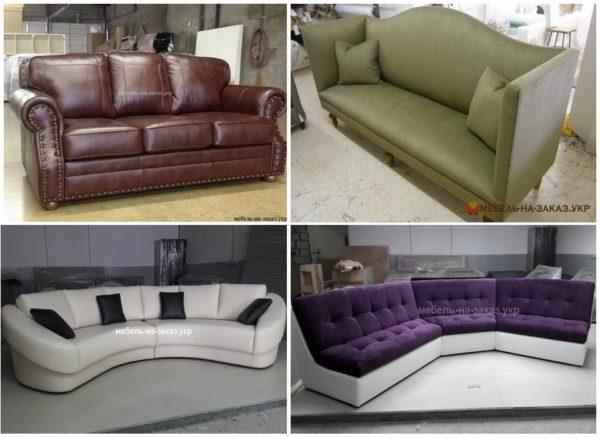 круглый угловой диван для кухни на заказ