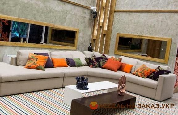 угловой диван на заказ для гостиницы