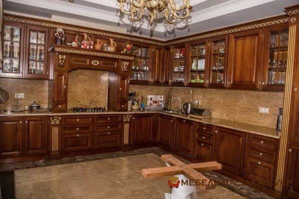 дизайнерская авторская мебель для кухни Фастов