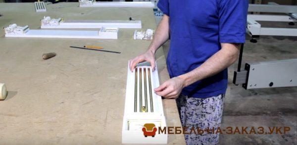 пиластра деревянной кухни