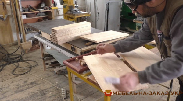 шлифовка мебели кухни