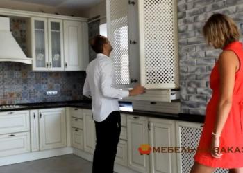 изготовление кухонной мебели из массива сосны