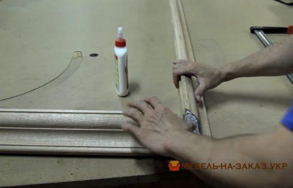 склейка мебели