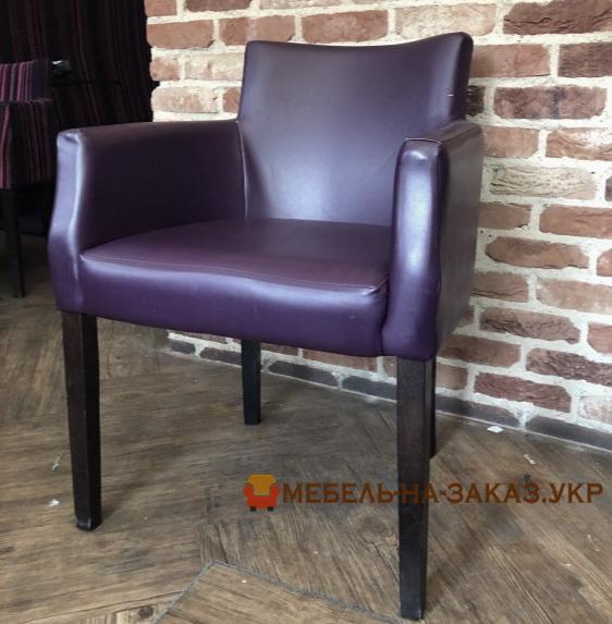 сиреневый стул