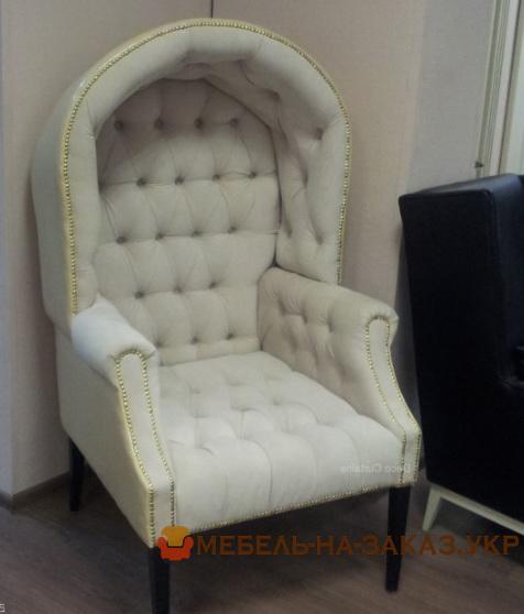кресло с навесной спинкой