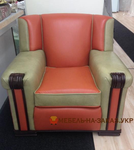 авторское красное кресло