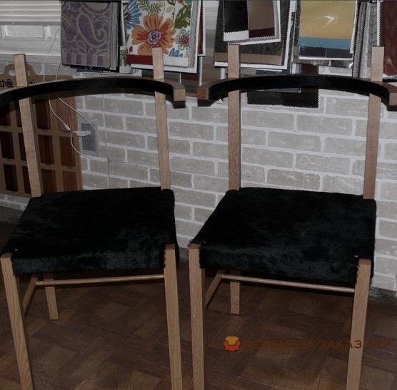 синие стулья советском стиле