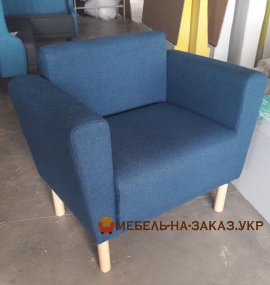 синий стул-кресло