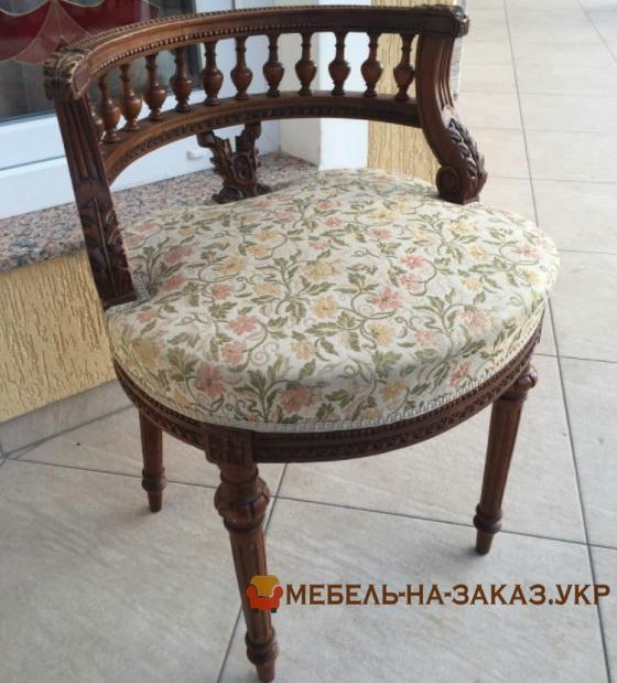 классический мягкий стул под заказ