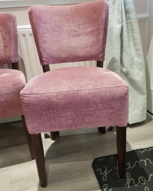 мягкие стулья из вельвета