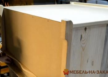 сборка корпуса деревянного комода
