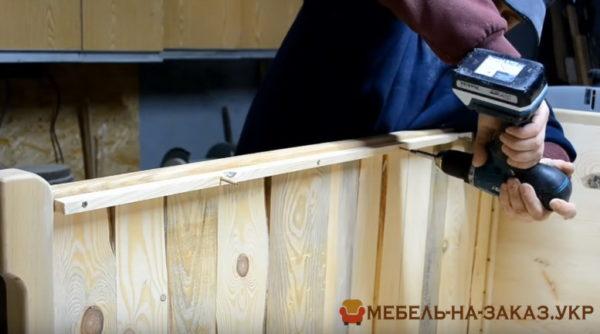 сборка деревянной мебели