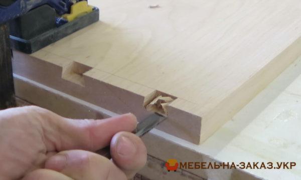 ласточкин хвост в мебели