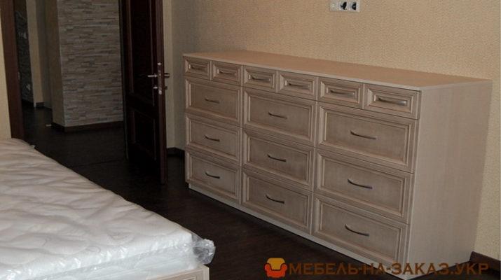 комод для спальной комнаты под заказ в Киеве