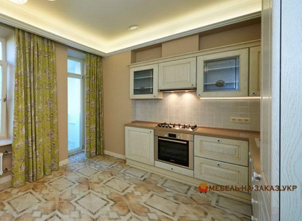 Мебель для маленькой кухни на заказ Троещина