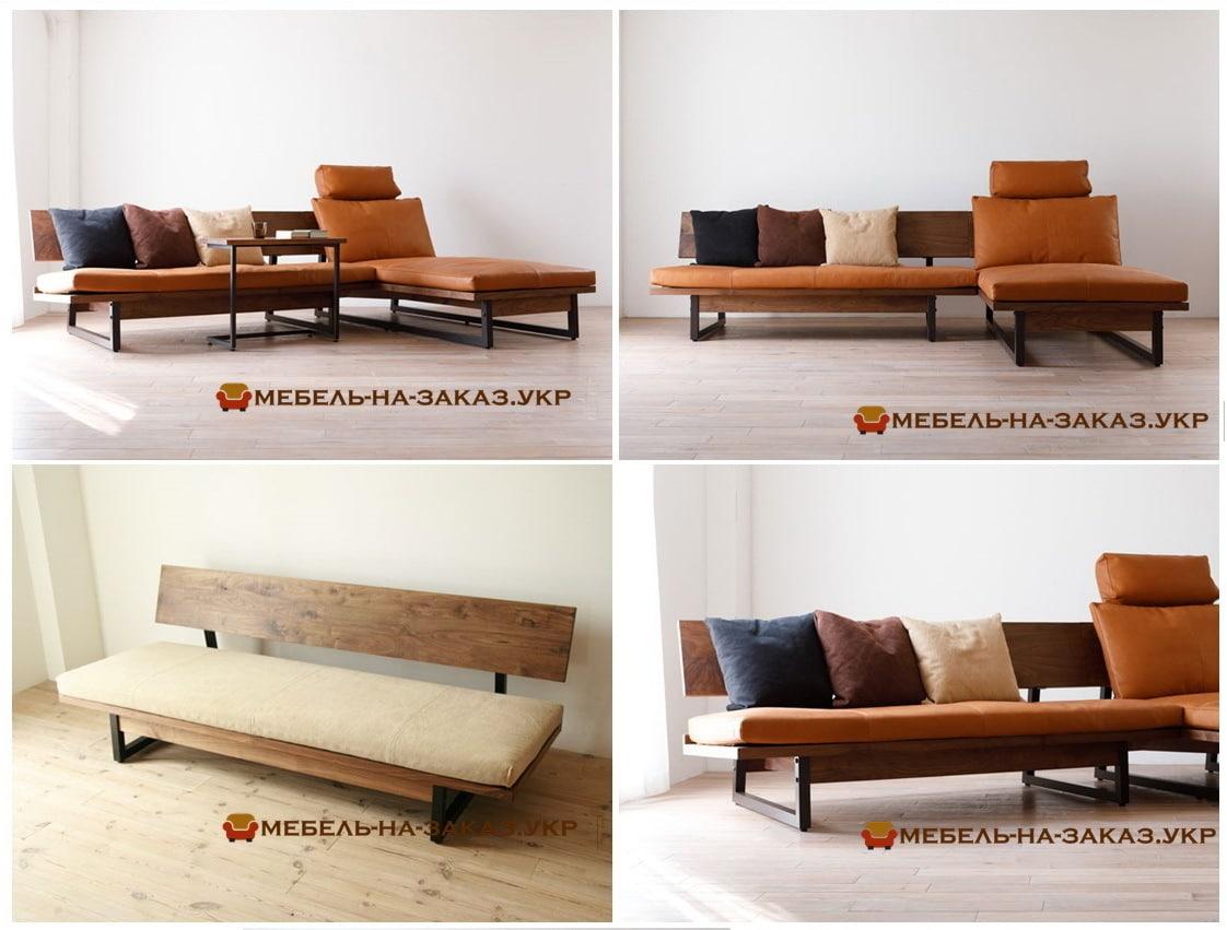 мягкая мебель в стиле loft