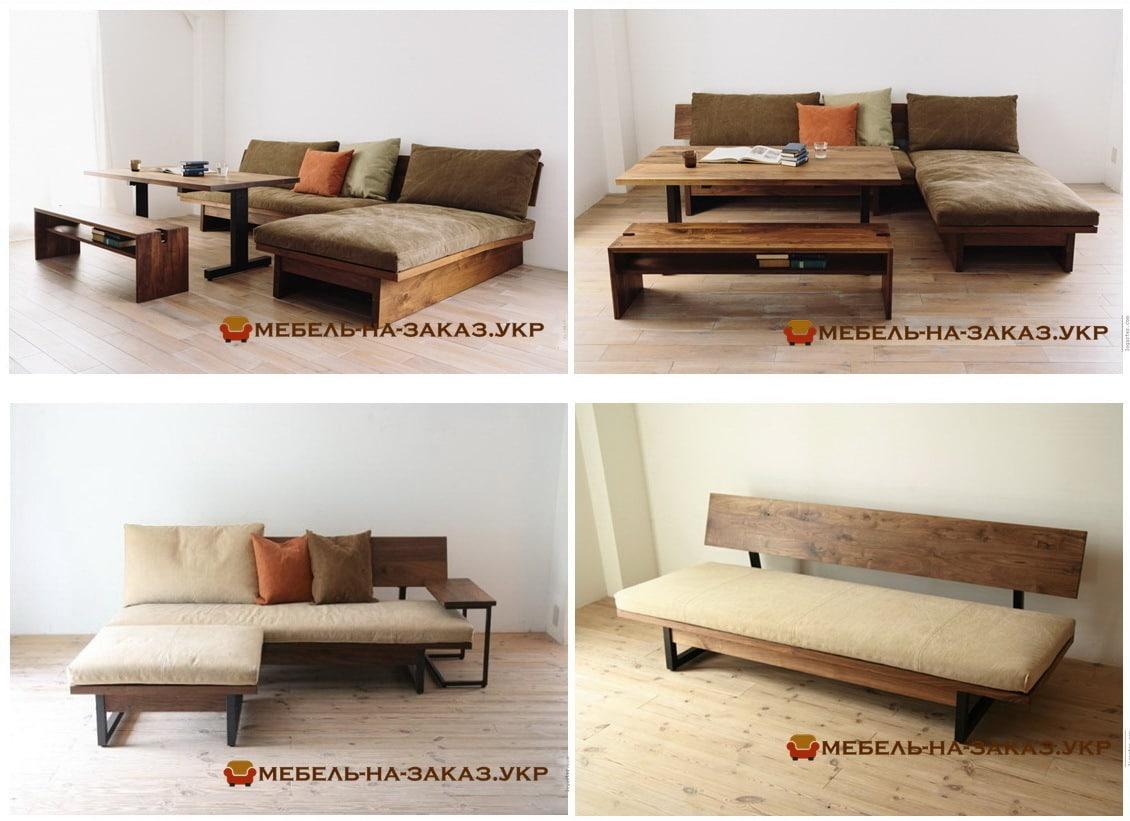 угловой диван лофт на заказ