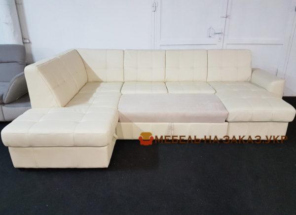 большой диван со спальным местом на заказ
