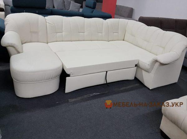 белый диван-кровать на заказ