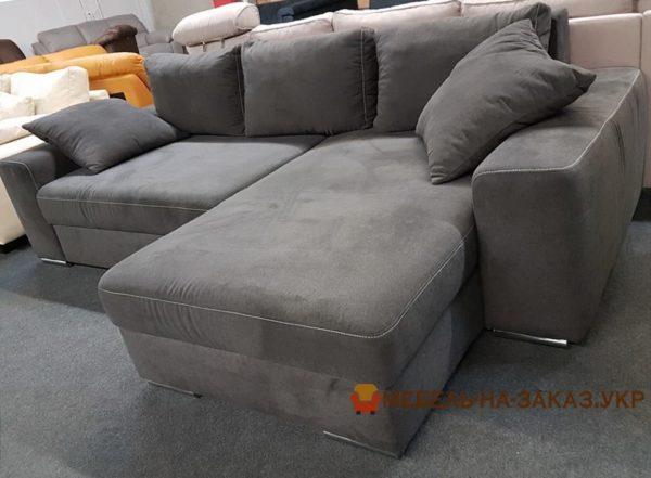 серый диван кровать на заказ в Киеве