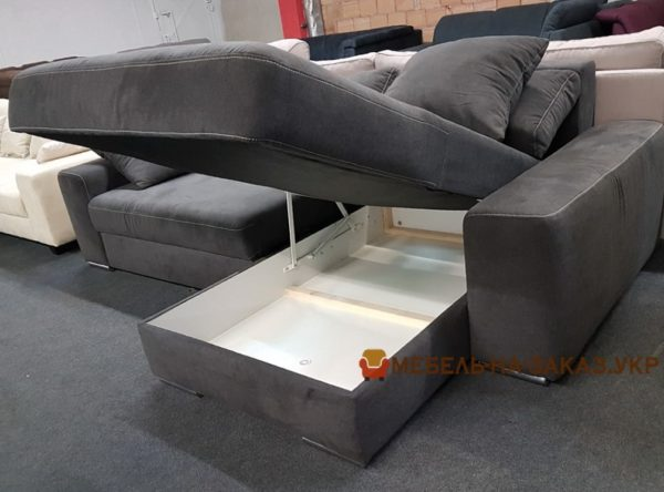 диван кровать с нишей для белья