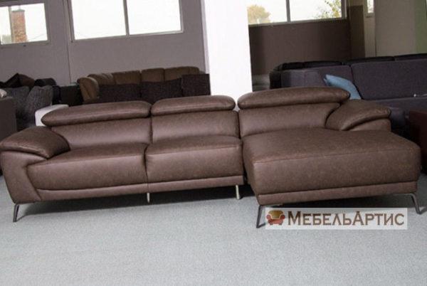 диван с подголовниками офисный