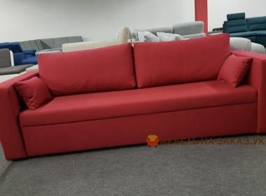 раскладной красный диван спальный