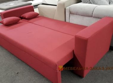 раскладной красный диван спальный на заказ в Киеве