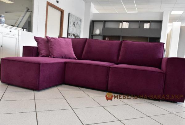 авторская мягкая мебель сиреневого цвета Киев
