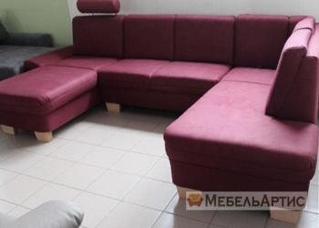 п образный офисный диван