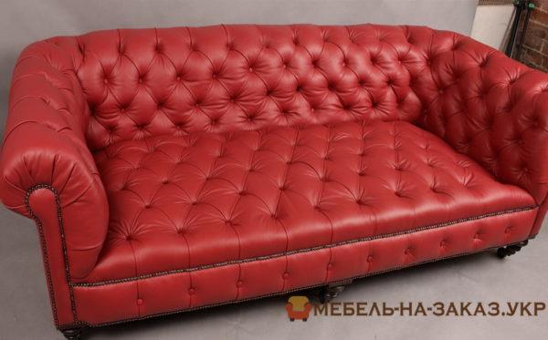 авторская мебель красного цвета на заказ