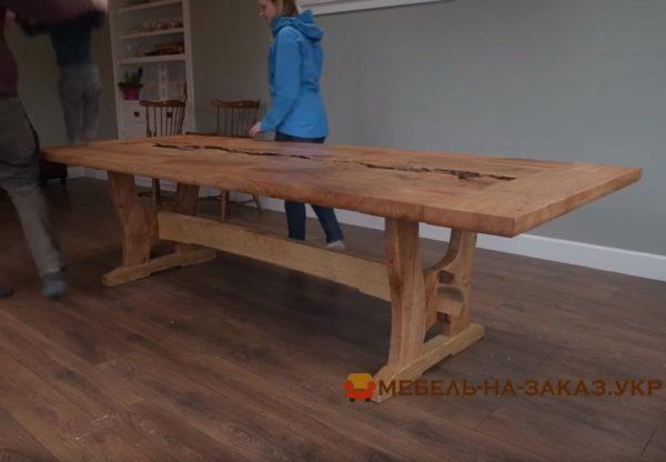 авторский деревянный стол под заказ