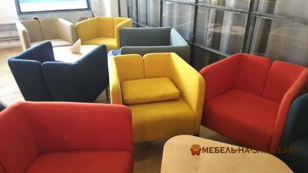 офисное кресло loft цветное