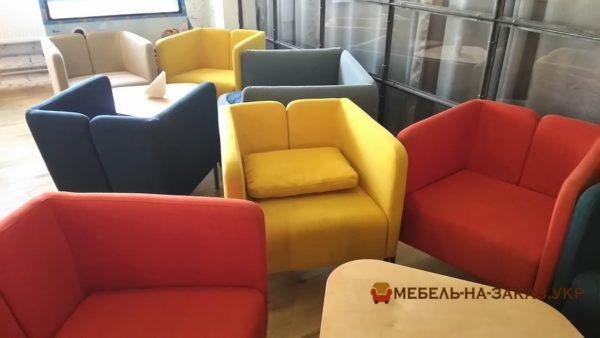 кресло loft цветное