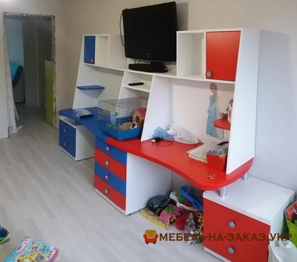 Киев цветная детская мебель