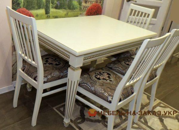 стол обеденный из ясеня