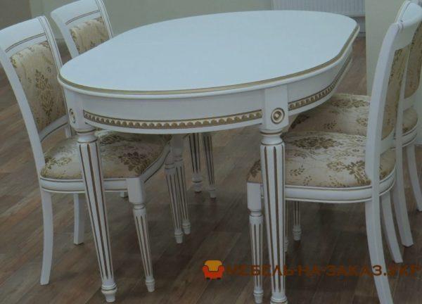 стол обеденный из сосны