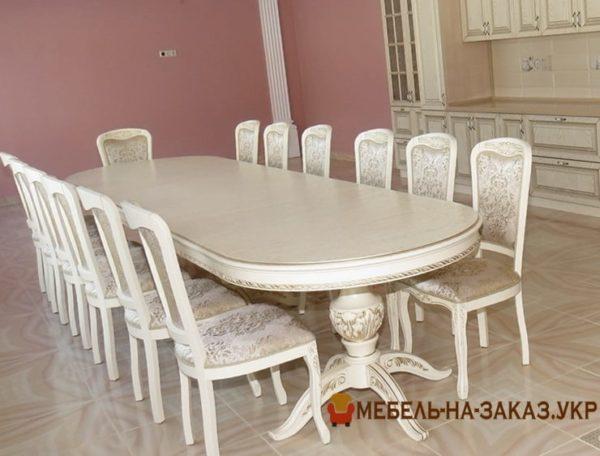 стол в столовую на заказ в Киеве