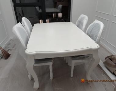 раздвжиной деревянный стол в кухню